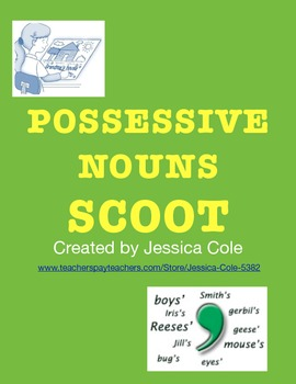 POSSESSIVE NOUNS SCOOT