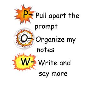 POW Graphic organizer