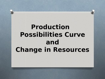 PPC and Change in Resources