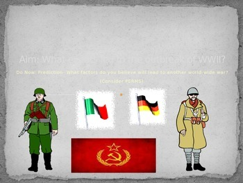 PPT: Intro. to World War II (WWII)