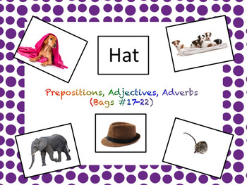 VB-MAPP Materials for Children with Autism: Prepositions,