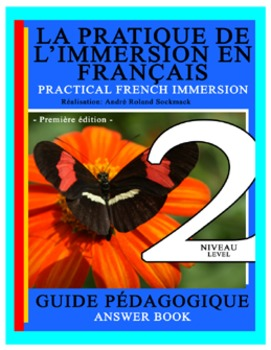 PRACTICAL FRENCH IMMERSION LEVEL 2 - ANSWER BOOK