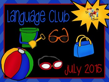 July 2015 Language Club