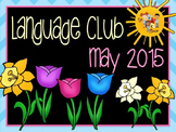May 2015 Language Club