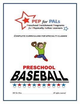 PRESCHOOL LESSON BUNDLE Spring Sports Baseball, Track&Fiel