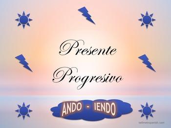 PRESENT PROGRESSIVE ACTIVITIES & EXERCISES