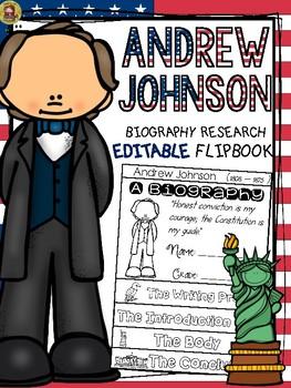 PRESIDENTS DAY: BIOGRAPHY: ANDREW JOHNSON