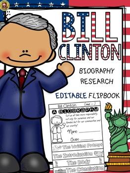 PRESIDENTS DAY: BIOGRAPHY: BILL CLINTON