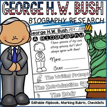 PRESIDENTS DAY: BIOGRAPHY: GEORGE H.W. BUSH