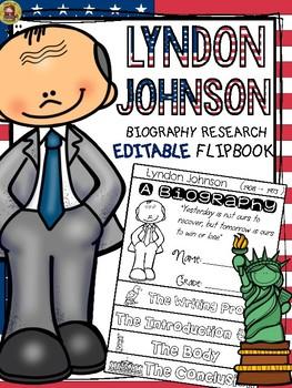 PRESIDENTS DAY: BIOGRAPHY: LYNDON JOHNSON