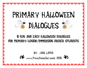 PRIMARY HALLOWEEN DIALOGUES