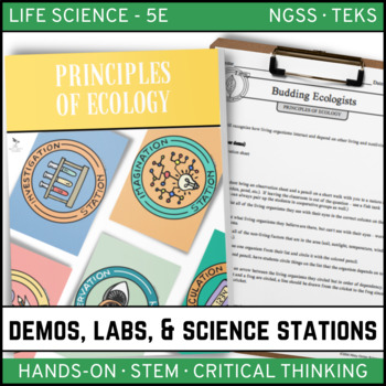 PRINCIPLES OF ECOLOGY - Demo, Lab and Science Stations