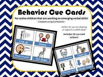 PRINTABLE Non Verbal Cue Cards {Autism & Speech Language Delay}