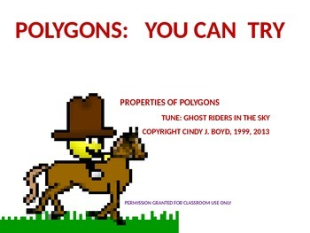 PROPERTIES OF POLYGONS SONG