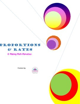 PROPORTIONS & RATES