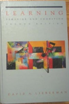 TEXTBOOK LEARNING PSYCHOLOGY BEHAVIOR AND COGNITION David