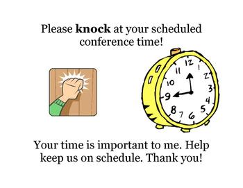 "PT conference ""knock sign"""