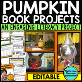 Pumpkin Book Report - An October Book Project for any Char