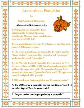 PUMPKIN FACTS!
