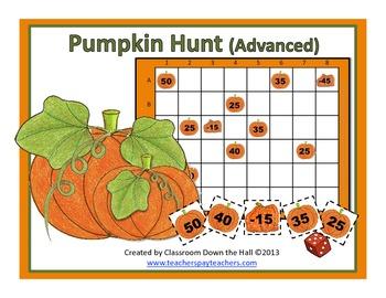 PUMPKIN HUNT(Advanced): A math game for fall