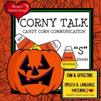 PUMPKINS CANDY CORN ARTICULATION SPEECH THERAPY