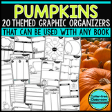 PUMPKINS | Graphic Organizers for Reading | Reading Graphi