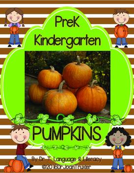 PUMPKINS (PreK and Kindergarten)