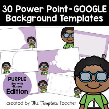 PURPLE Editable PowerPoint & Google Slides Templates - Per