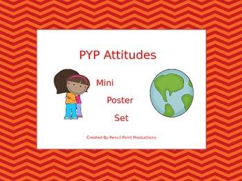 PYP Attitudes Mini Poster Set