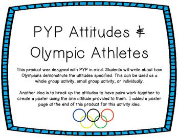 PYP Attitudes & Olympic Athletes