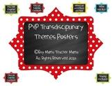 IB PYP Transdisciplinary Themes Poster