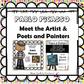 Pablo Picasso - Common Core Close Reading & Lit Unit Bundled Set