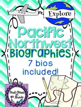 Pacific Northwest Explorer Biographies (7 Explorers Included!)