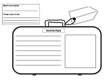 Pack Your Bags! Graphic Organizer