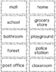 Pack your Nouns! Center Game