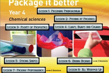 Primary Connections Package It Better-Chem. Science WHOLE