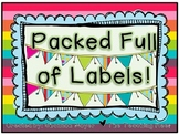 Packed Full of Labels!