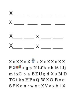 Packet Letter X Color Trace Write Read