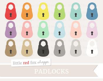 Padlock Clipart; Lock