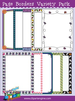 Page Borders Variety Pack