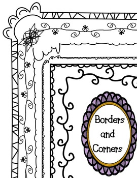 Page Borders and Corners