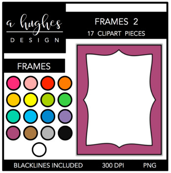 Page Frames Set 2 {Graphics for Commercial Use}