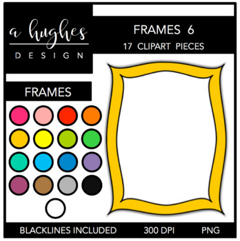 Page Frames Set 6 {Graphics for Commercial Use}