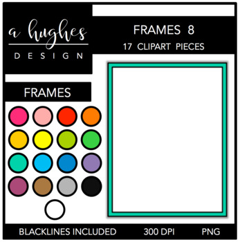 Page Frames Set 8 {Graphics for Commercial Use}