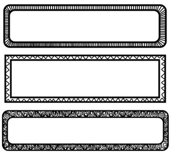 Page Headers Borders Frames