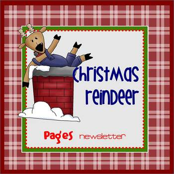 Pages - CHRISTMAS REINDEER - Newsletter template - For iPa