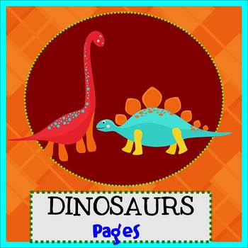 Pages - DINOSAUR theme - Newsletter Template - For iPads,