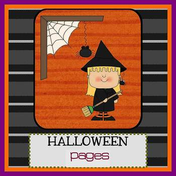 Pages - HALLOWEEN - Newsletter template - For iPads, iPhon