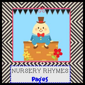 Pages - NURSERY RHYMES theme - Newsletter Template - For i