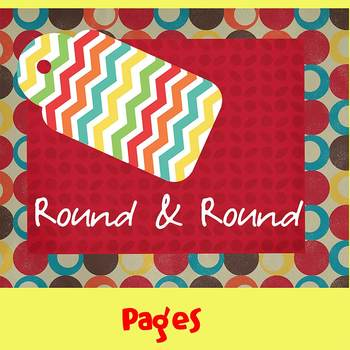 Pages - ROUND & ROUND - Newsletter Template - Create on iP